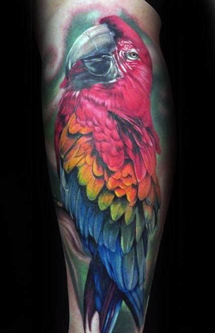 parrot tattoo designs  men mimicry ink ideas