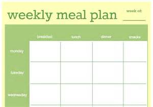 meal planning template beepmunk