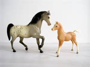 Small Barns Vintage Breyer Horse Figurines