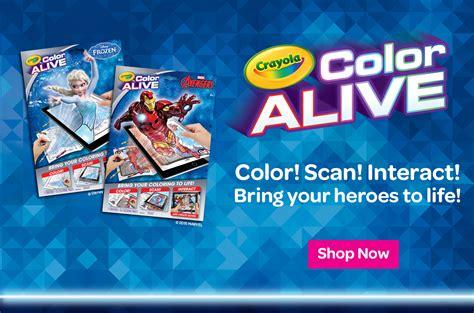 crayola color alive interactive coloring pages crayola crayola