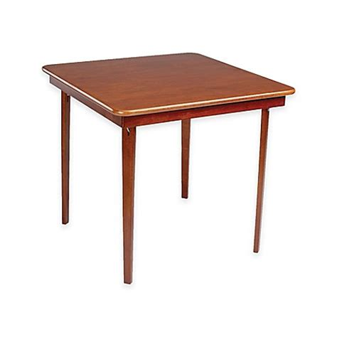 where can i buy a folding card table buy stakmore 32 inch edge folding card table in