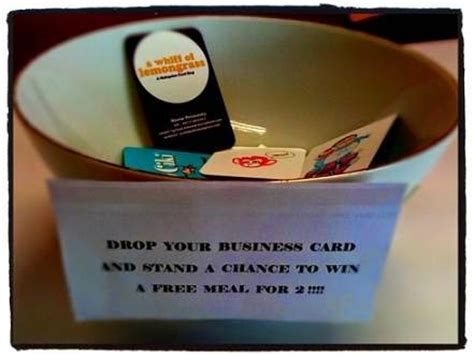 drop card template 27 images of your prize enter to win flyer business card