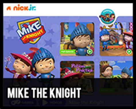 nick jr mike the knight coloring pages chesteriscool com cool websites and resources for