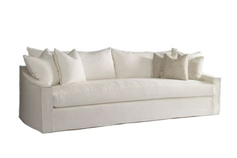 10 easy pieces linen slipcovered sofas by