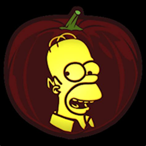 homer pumpkin template the simpsons homer co stoneykins pumpkin carving