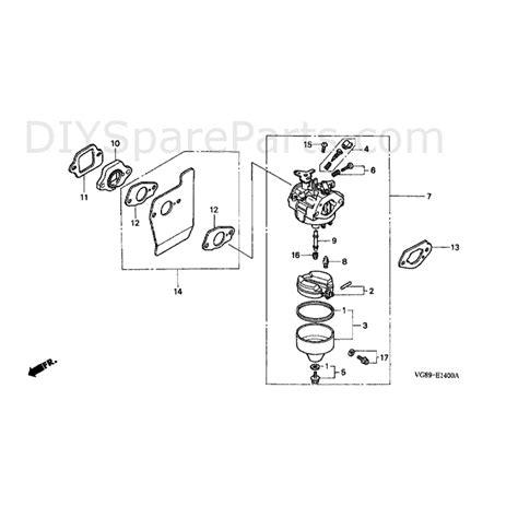 Ignition Coil Espass S91 honda hrb425 sqe hrb425c sqe mzcf parts diagram carburettor