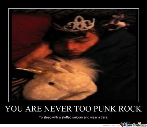 Punk Rock Memes - never too punk rock by greetlesday13 meme center