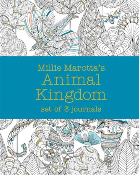 libro millie marotta 2017 diary millie marotta s animal kingdom journal set 3 notebooks phoenix distribution