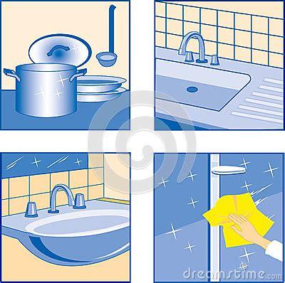 sparkling clean kitchen clipart clipground