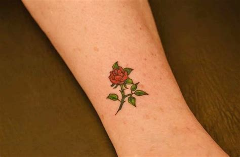 small rose tattoo ideas 40 lovely tattoos and designs