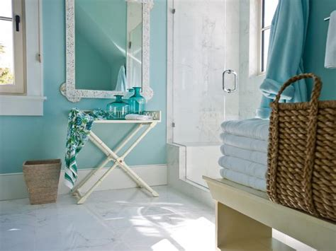 turquoise bathroom paint turquoise paint colors cottage bathroom sherwin williams watery hgtv