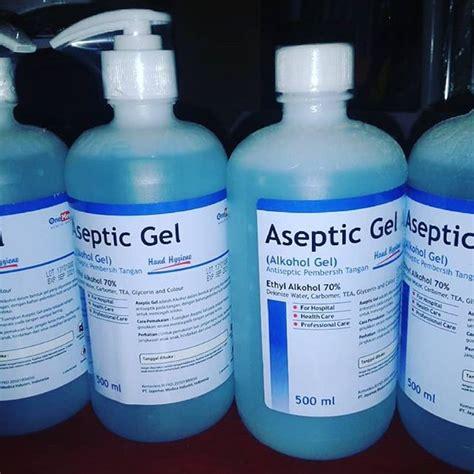 aseptic gel  yogyakarta alat kesehatan medis