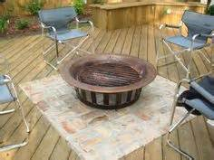 Can You Put Fire Pit On Wood Deck by For The Backyard On Pinterest Tubs Fire Pits And Decks