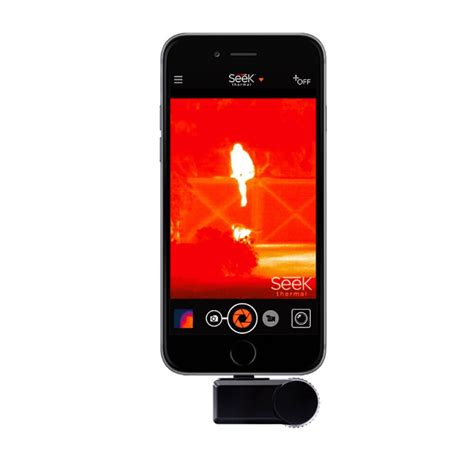 thermal smartphone range small thermal imaging for a smartphone