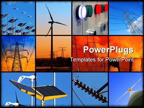 Electrical Templates For Powerpoint Free Download | set of twelve images relating to electricity powerpoint