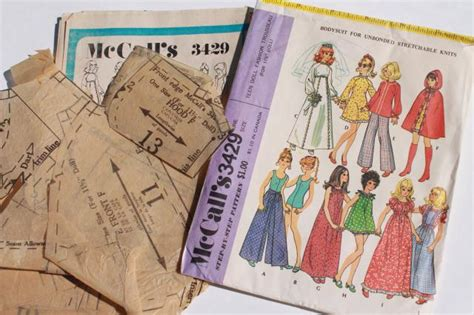 fashion doll sewing notions vintage doll clothes sewing patterns lot fashion dolls