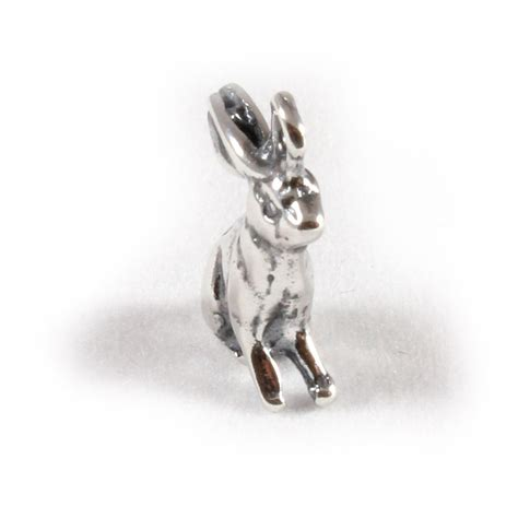charm school uk gt sterling silver charms gt animals gt rabbit