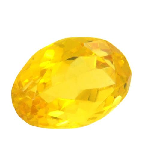 avataar yellow semi precious gemstone buy avataar yellow