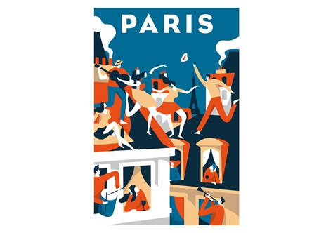 airbnb trips airbnb paris poster on behance