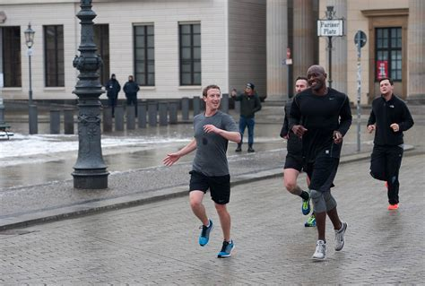 haus running berlin what the are saying about zuckerberg s run in