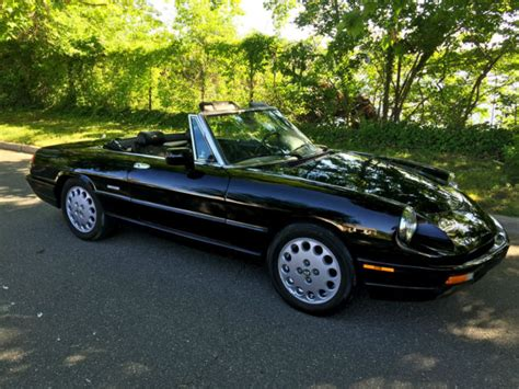 where to buy car manuals 1992 alfa romeo spider auto manual 1992 alfa romeo spider veloce triple black low miles excellent driver for sale photos