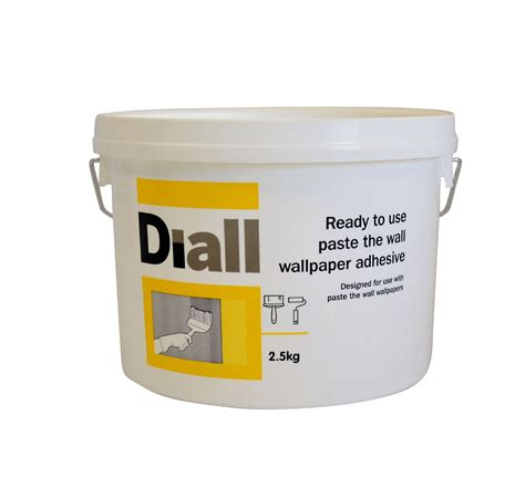 diall paste the wall ready to use wallpaper adhesive 2 5kg departments diy at b q