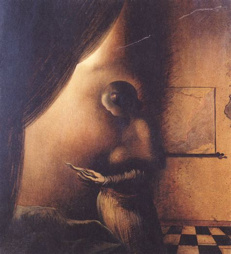 Face Or Vase Optical Illusion Dali Salvador Fine Arts Before 1945 The Red List