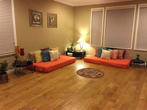 indian inspired living room floor seating living room