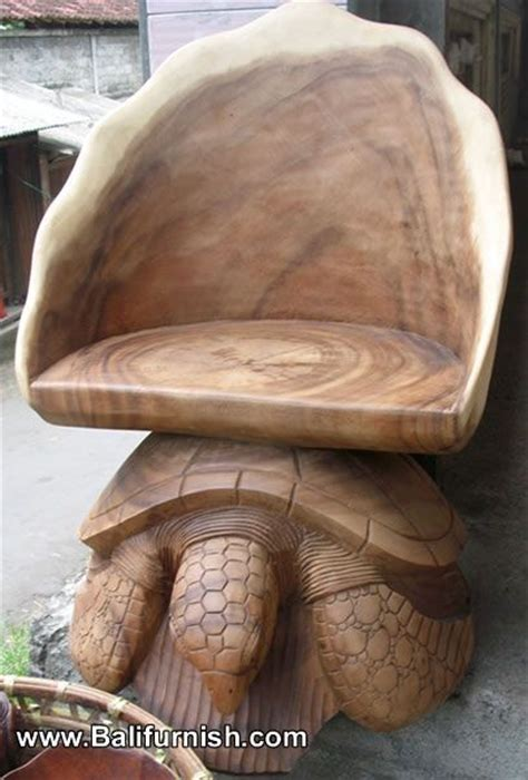 Turtle Coffe Surabaya carved wood turtle chairs furniture from bali indonesia balinese wood carvings turtle by kirsten