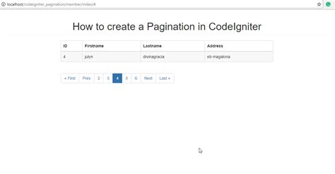 tutorial codeigniter pagination how to create a pagination in codeigniter free source