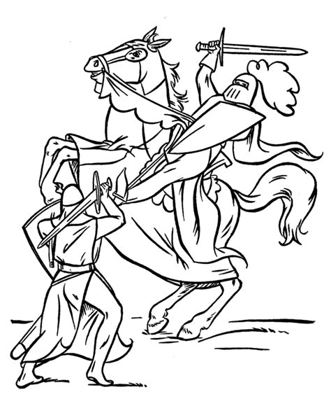 knight coloring pages az coloring pages