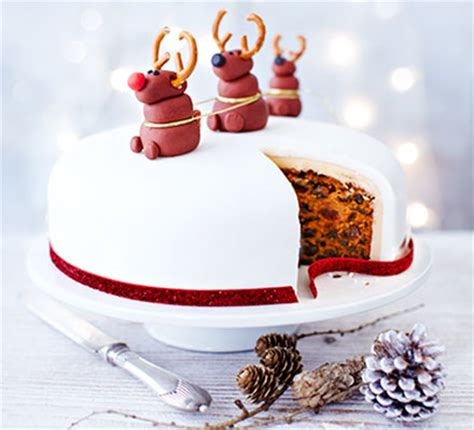 nancy s rudolph christmas cake recipe bbc good food