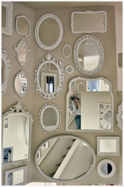 shabby chic bedroom mirrors best 20 mirror wall collage ideas on pinterest gallery