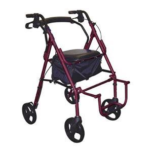Transport Walker Chair by Drive Duet Transport Wheelchair Chair Rollator Walker