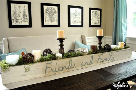 Dining Table Centerpiece Wood Design And Decor Planter Box Centerpiece
