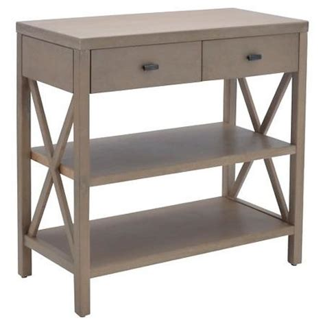 Quade Console Table Rustic Storage Console West Elm