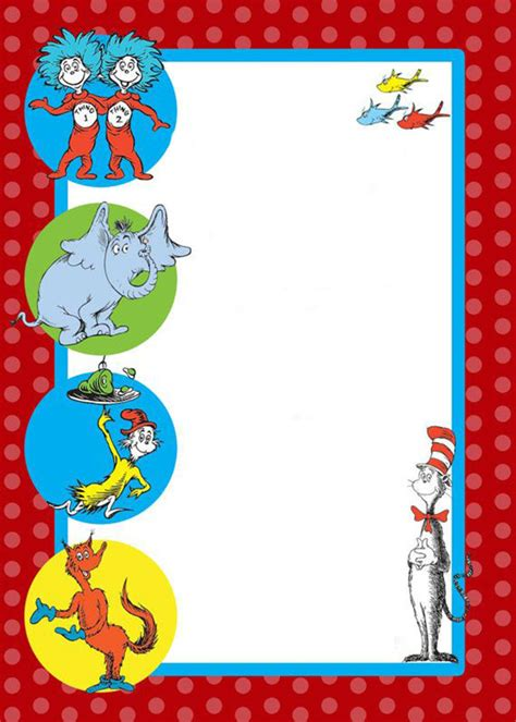 dr seuss templates free dr seuss free printable invitation templates