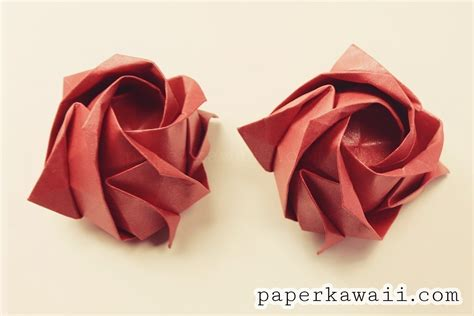 origami kawasaki 183 how to make an origami flower
