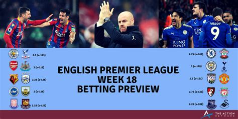 epl week 12 premier league week 18 betting preview draws draws