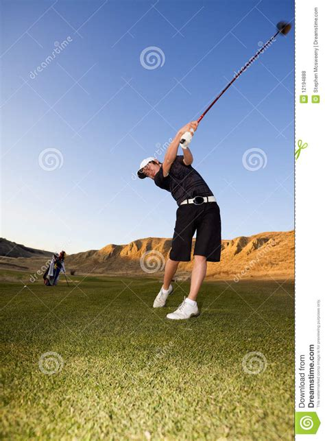golf video driver swing golf driver swing royalty free stock photos image 12194888