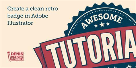 tutorial illustrator logo vintage denis designs free photoshop tutorials inspirations