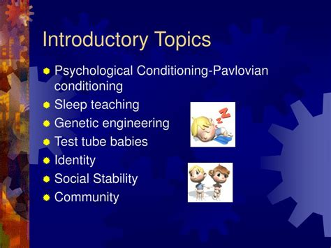 themes found in brave new world ppt brave new world by aldous huxley powerpoint