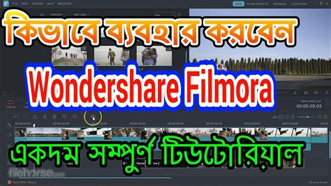Filmora Full Tutorial | how to use wondershare filmora a z full tutorial with free