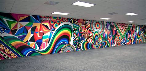 trippy wall murals psychedelic colorful illustrations by matt inspirational portfolio 29 graphic news