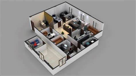3d office floor plan 3d commercial office floor plan design arch student