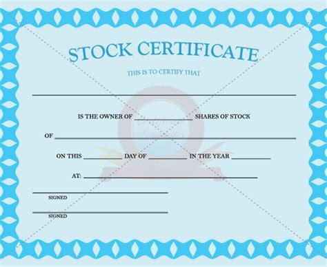 stock certificate template pdf 21 stock certificate templates free sle exle