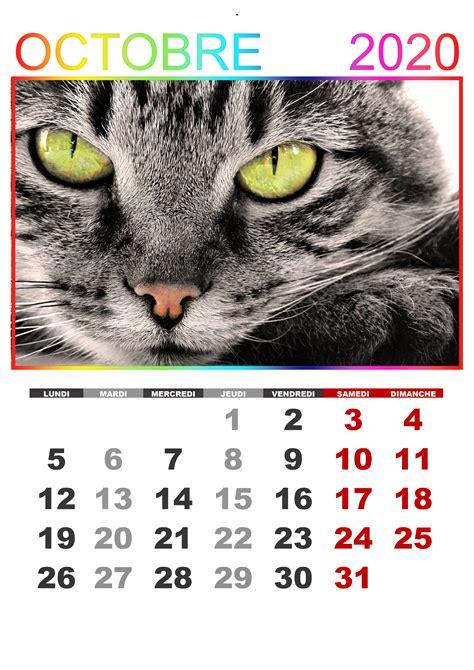 calendrier octobre  calendriersu
