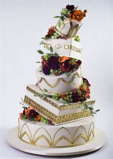 creative topsy turvy wedding cake ideas weddingomania