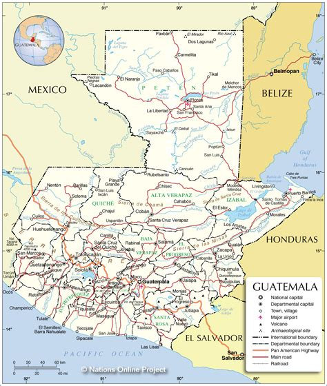 where is guatemala on the map map of guatemala south america maps map pictures