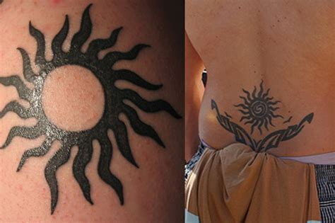 tribal sun tattoos pictures tribal sun tattoos tribal sun designs pictures